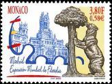 102 2269 2000 madrid exposition mondiale de philatelie